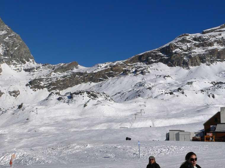 Blick Aufs Trassee Des 2ers Rocce Bianche (R).